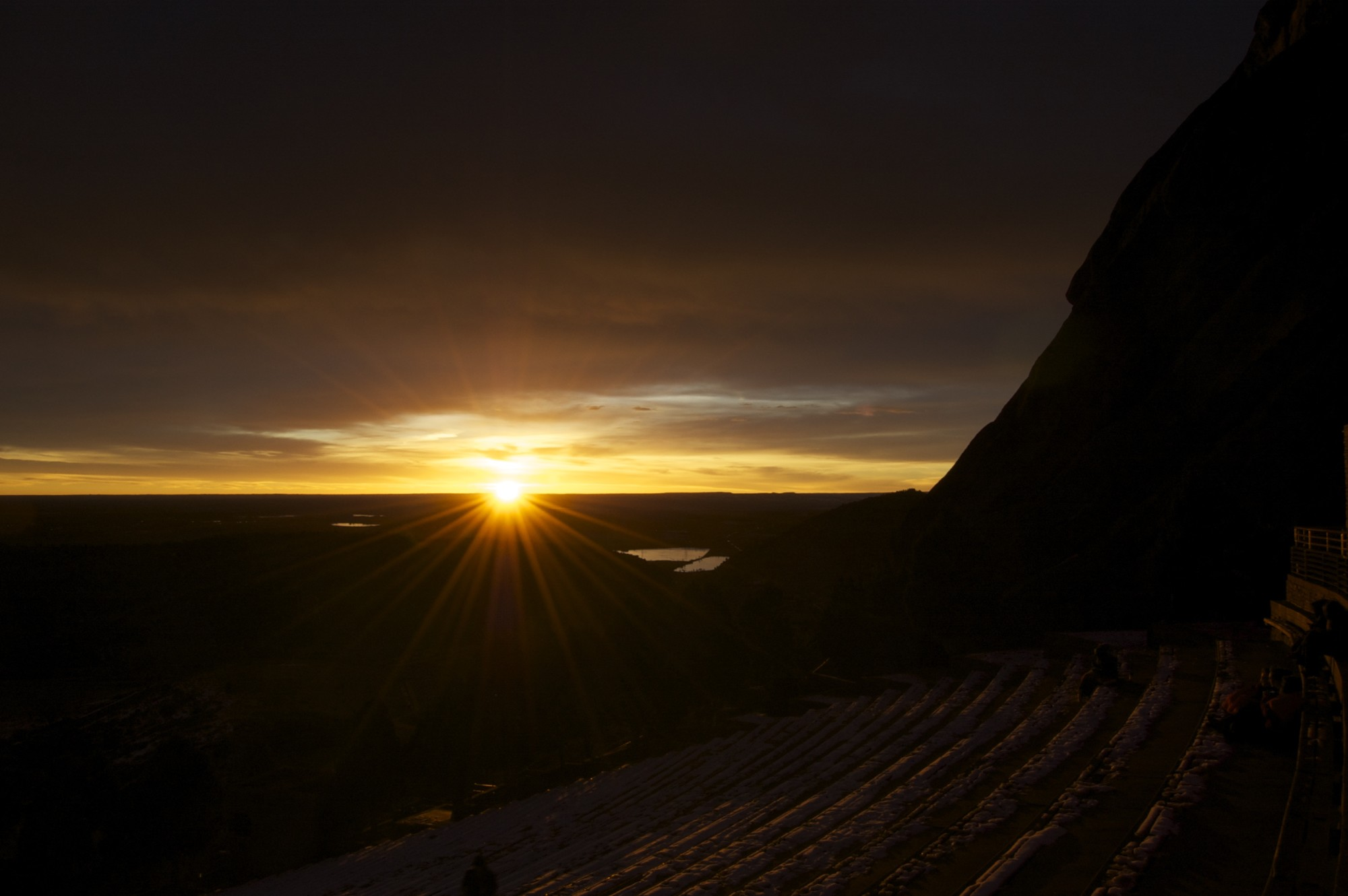 Sunrise at Red Rock Ampitheater