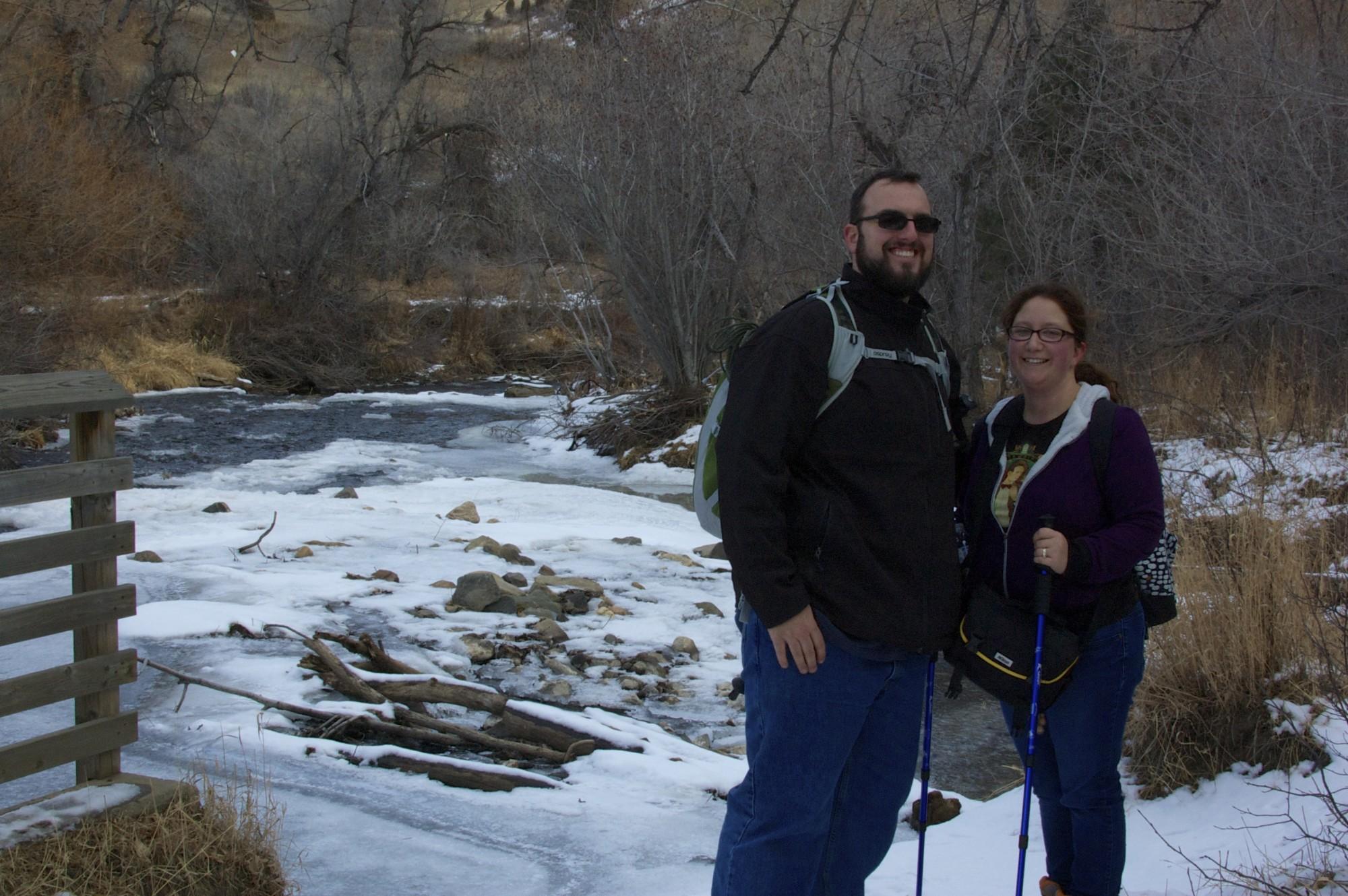 Mandy and John at Lair o' the Bear