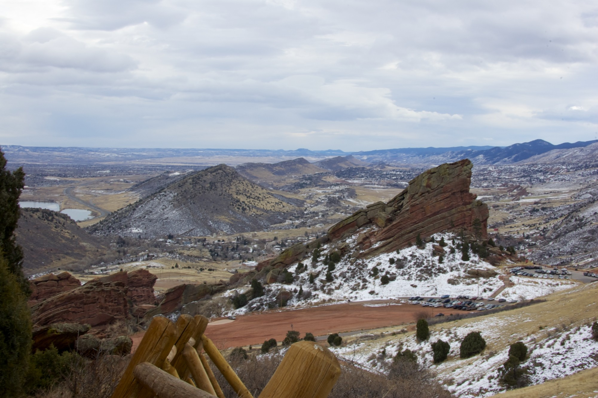 Pretty views from Red Rocks
