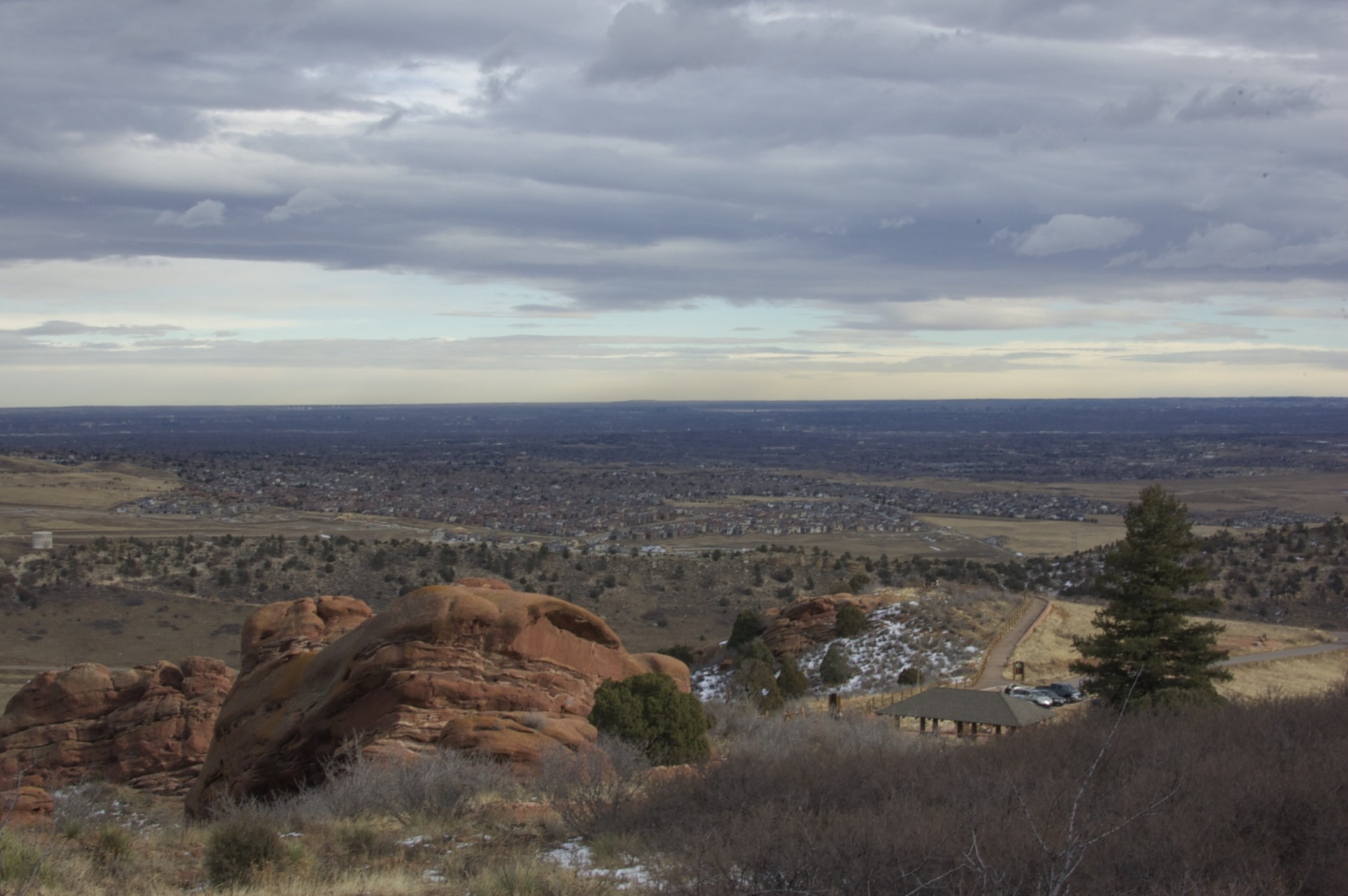 View from Red Rocks