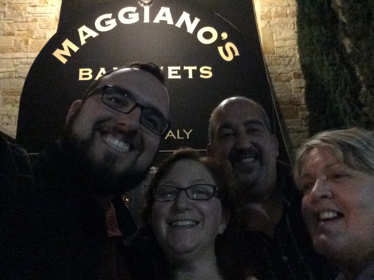 A night out at Maggiano's