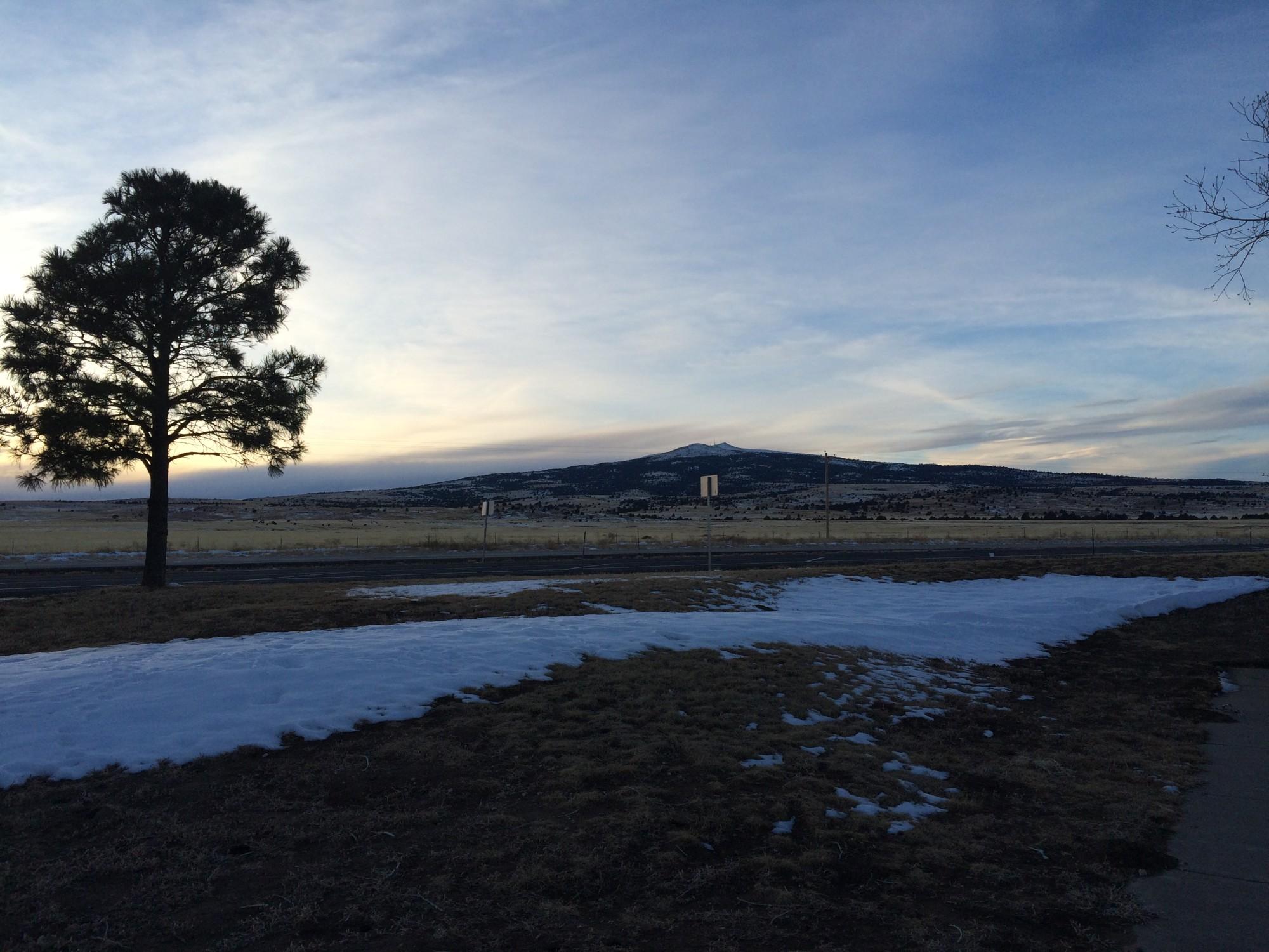 Sierra Grande: An extinct shield volcano
