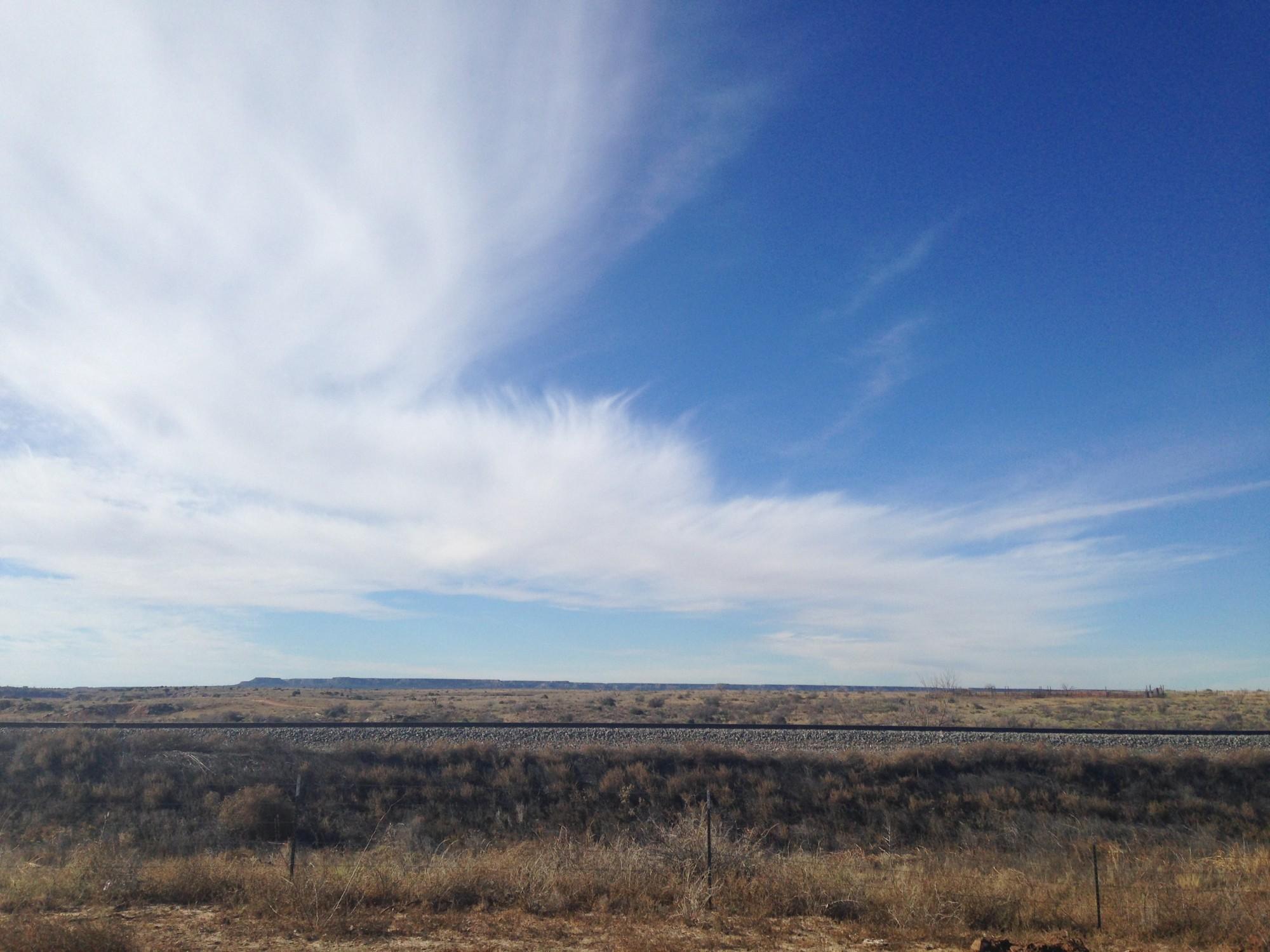 Texas sky