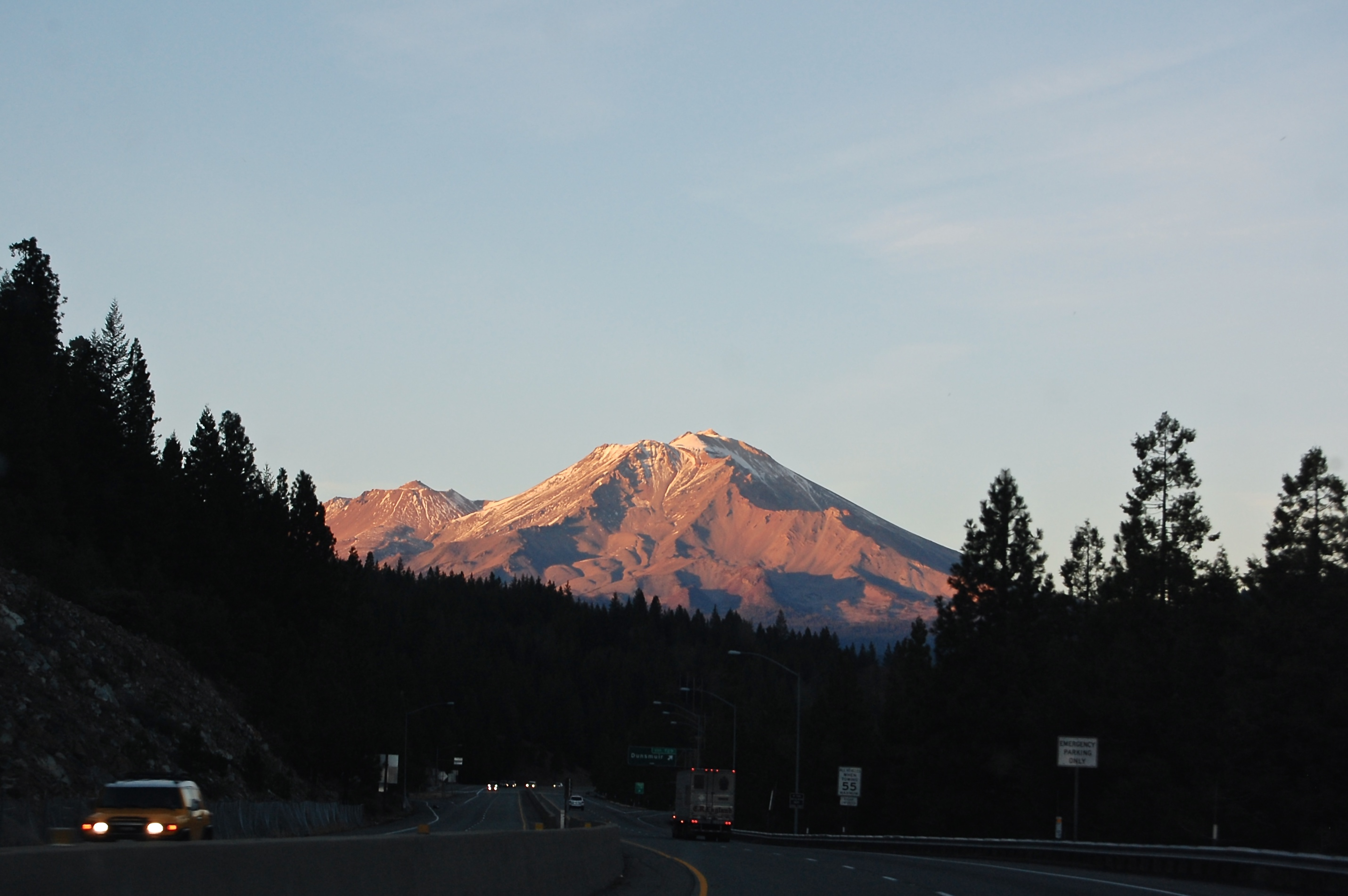 Mount Shasta from afar