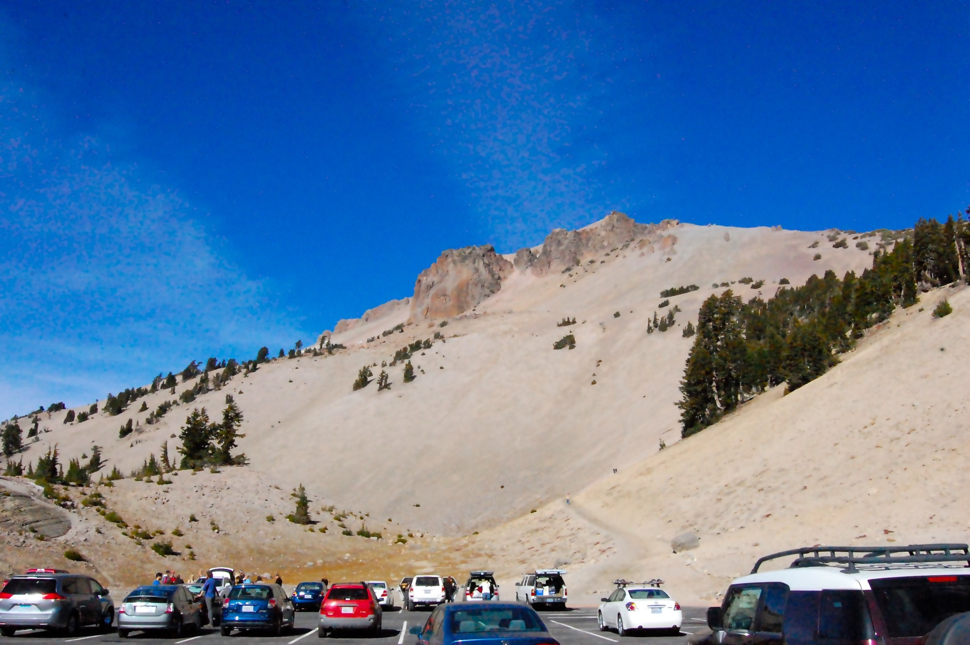 A hike at Lassen Volcanic National Park