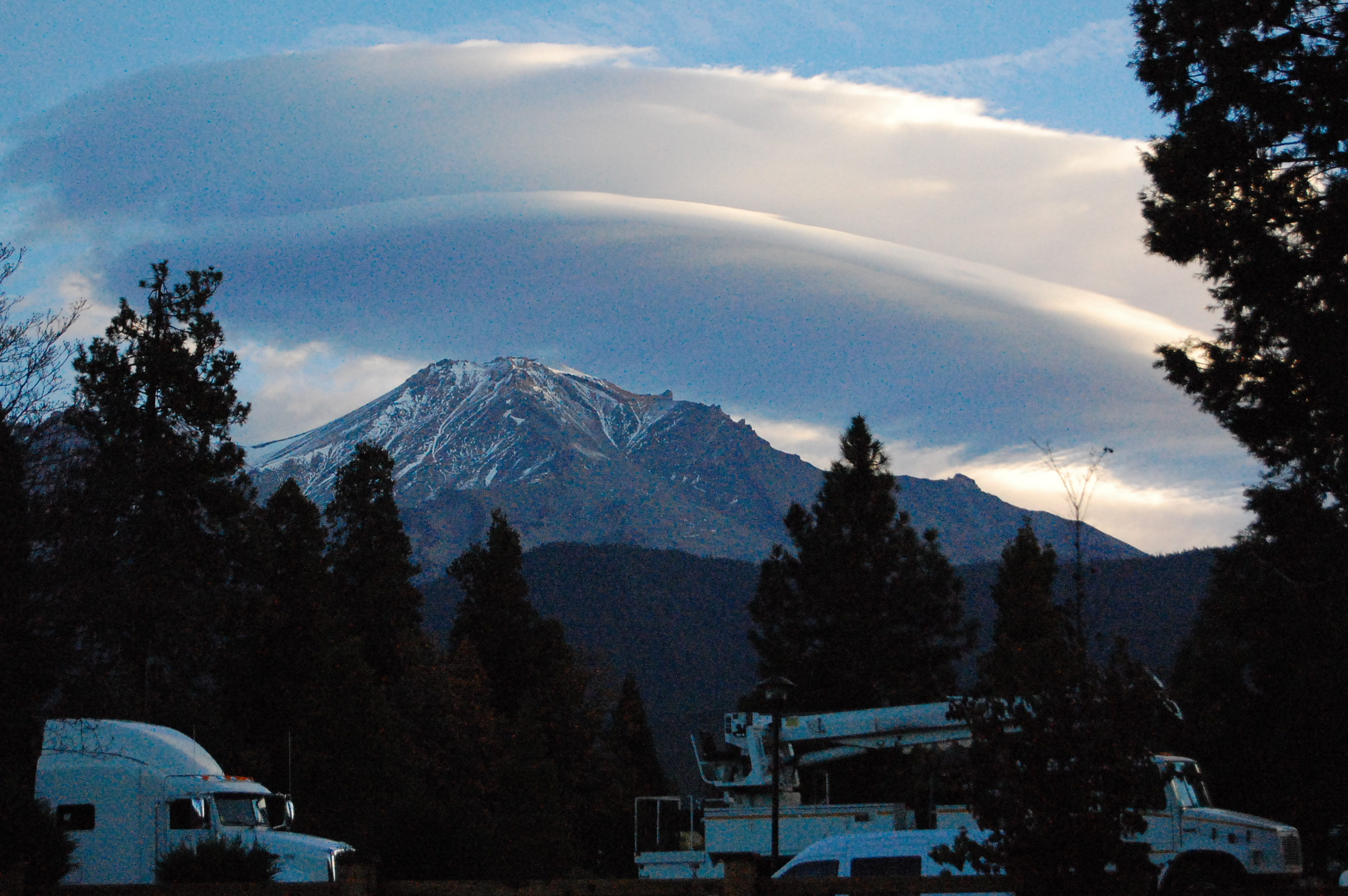 View of Mount Shasta