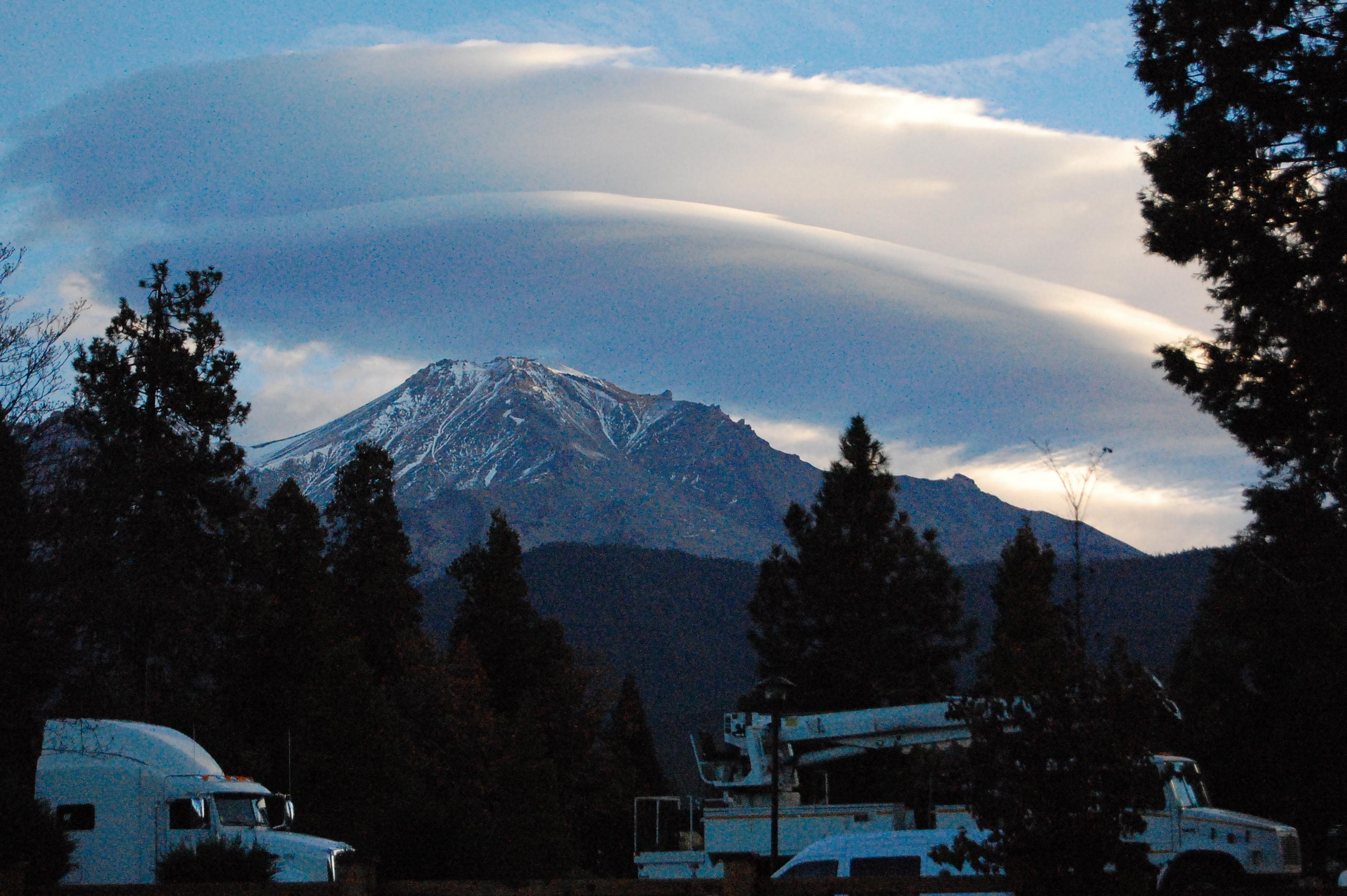 View of Mount Shasta