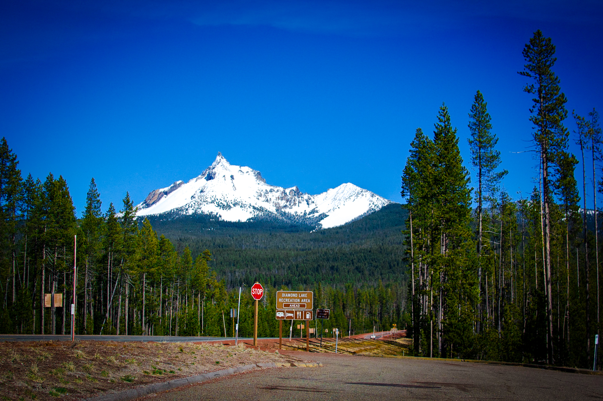 View point off of Highway 230 (Rogue-Umpqua Scenic Byway)