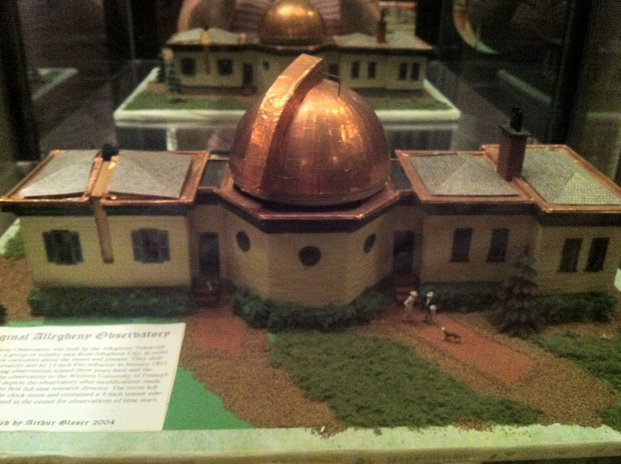 Model of the observatory